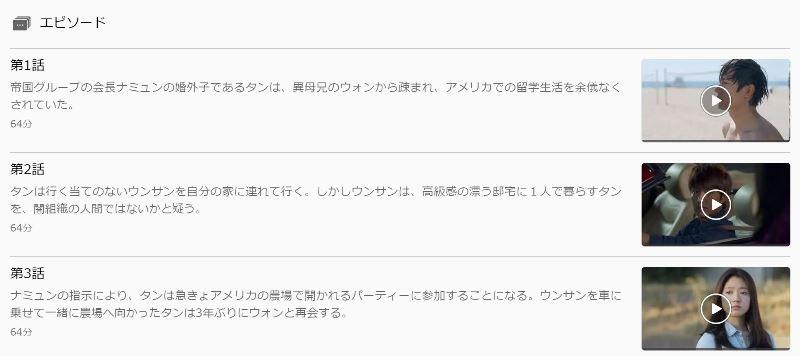 U-NEXTでは相続者たちを全話日本語字幕で視聴可能♪