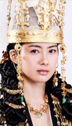 トンマン王女役(イ・ヨウォン)